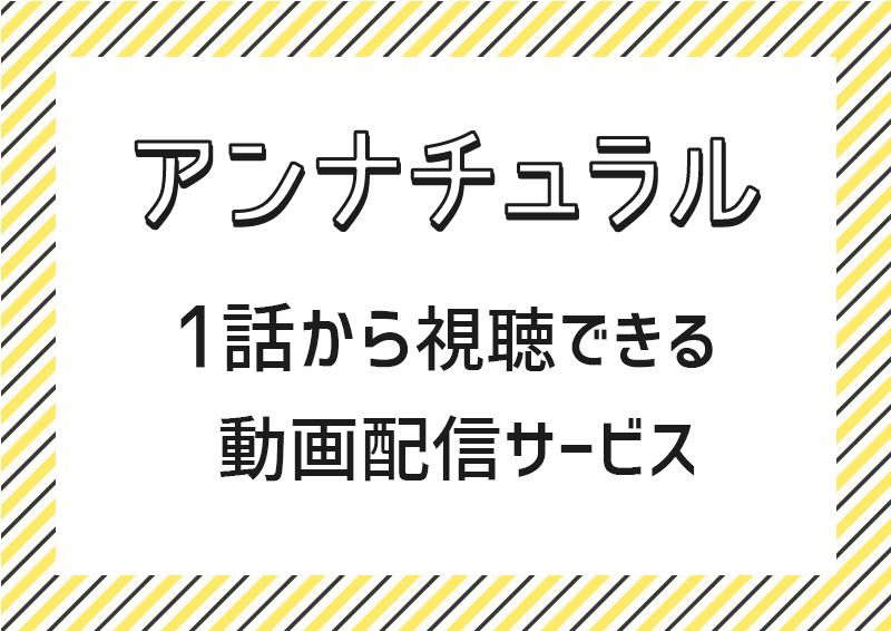 ドラマ『アンナチュラル』フル動画を無料で視聴できる動画配信サービス